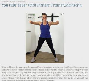 FitnessType interview