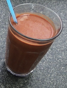 Healthy Smoothie Recipe - cacao smoothie