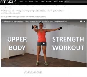 FitnessType guest blog