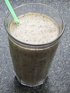 Healthy Smoothie Recipe - purple power smoothie