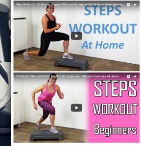 FitnessType product videos