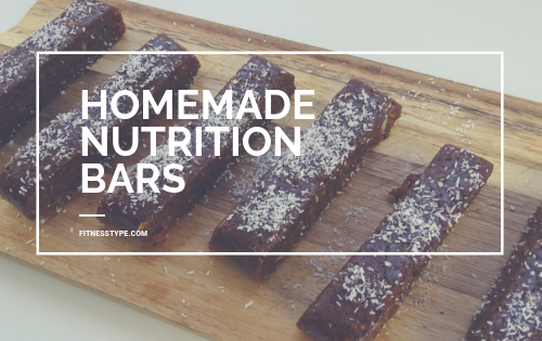 homemade nutrition bars