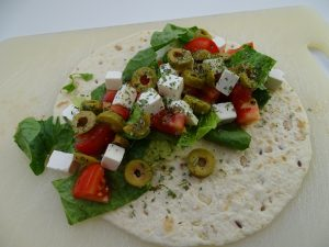 italian wrap recipes