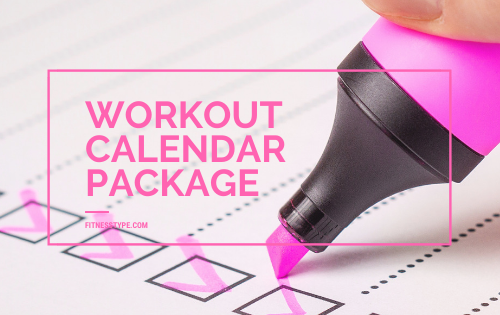 Workout Calendar Package