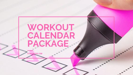 Workout Calendar Package