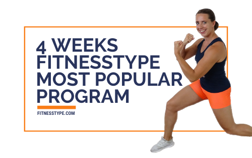 4 weeks - Most Popular Workouts Program