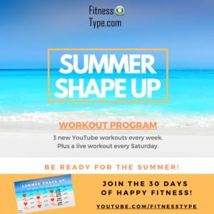 Summer Shape Up Program